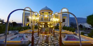 تور مجازی عمارت شیخ خان (باغ تالار 777)